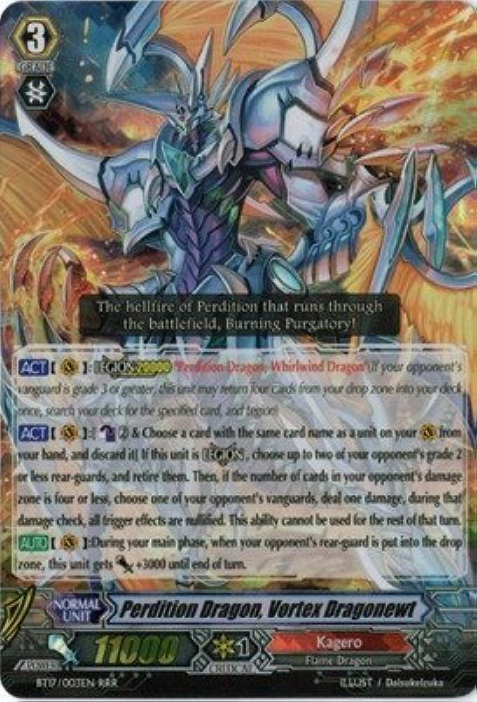 Cardfight   Vanguard TCG - Perdition Dragon, Vortex Dragonewt (BT17 003EN) - Booster Set 17  Blazing Perdition ver.E by Bushiroad Inc. B00YBCAVN4 Preisrotuktion  | Kaufen Sie beruhigt und glücklich spielen