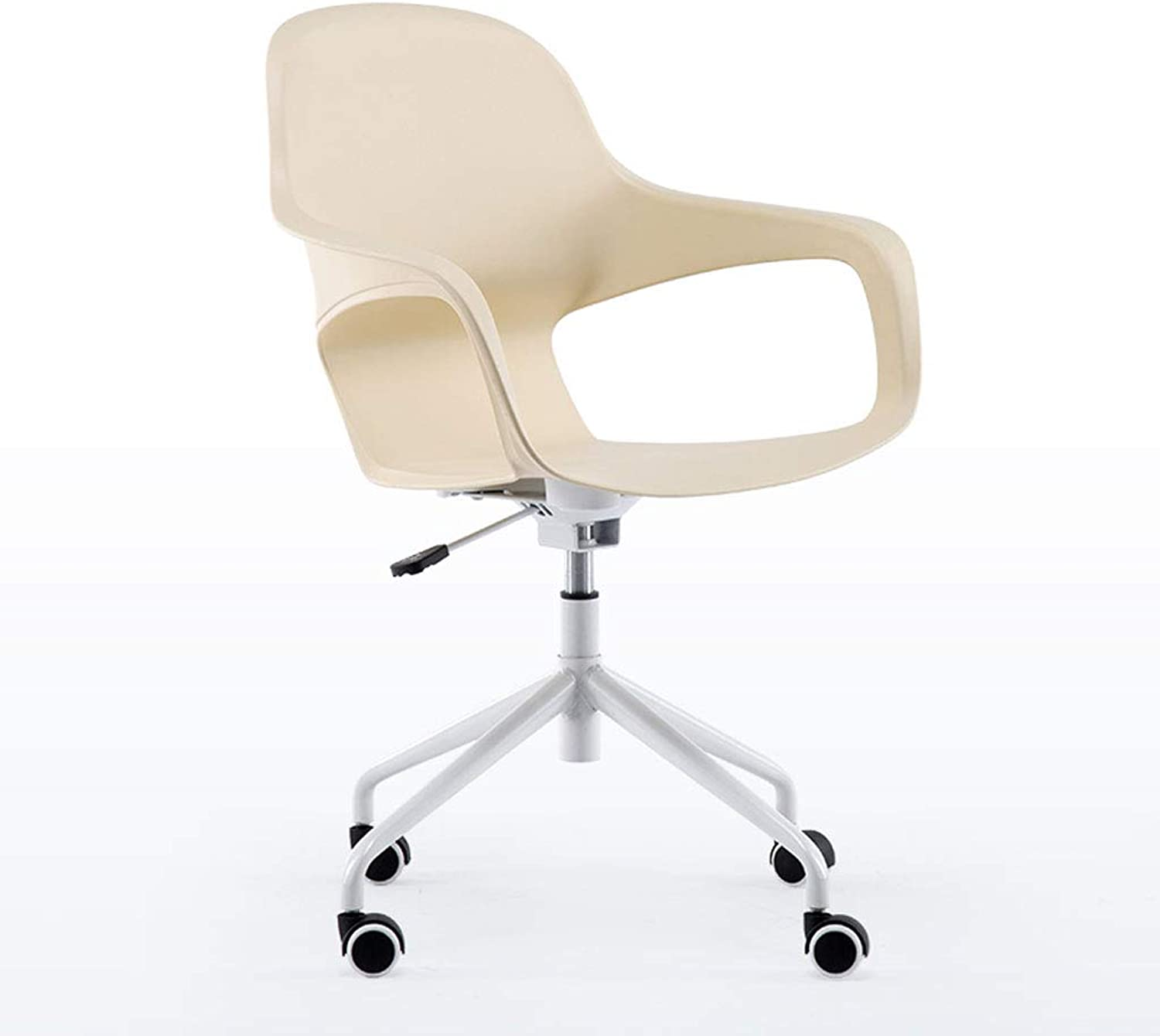 CQ Computer Chair Modern Simple Nordic Leisure redating Home Study Personality Creative Office Chair (color   White)