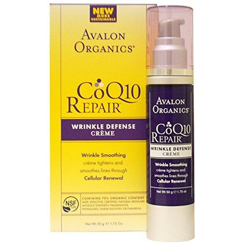 Coq10 Crème anti-rides (organique) 50 g