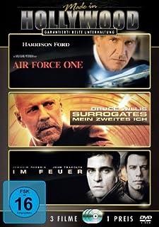 Air Force One / Surrogates - Mein zweites Ich / Im Feuer [3 DVDs]