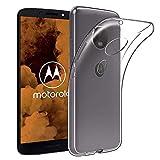 COPHONE® Coque Compatible avec Motorola Moto G6 Play Etui Transparent antidérapent Coque en...
