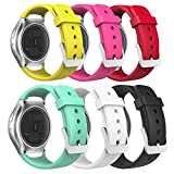 MoKo Bracelet de Gear S2 Smartwatch, Watch Band Flexible en Silicone pour Samsung...