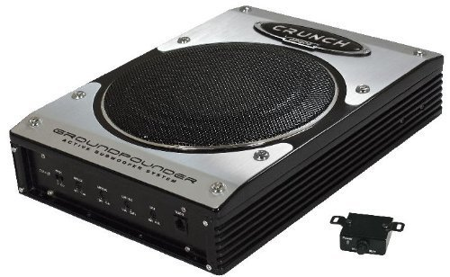 Crunch GP800 Pre-Loaded subwoofer 100W subwoofers para Coche - Subwoofer para Coche (Pre-Loaded subwoofer, Active subwoofer, 100 W, 40-150 Hz, 200 W, 20,3 cm (8'))