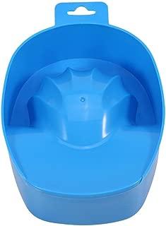Soak Bowl - Delaman Acetona Remojo De La Bandeja, Nail Spa, Nail Art Gel UV Acrílico Removedor Esmalte Uñas Herramienta Tratamiento Cuidado Manicura (Color : Blue)