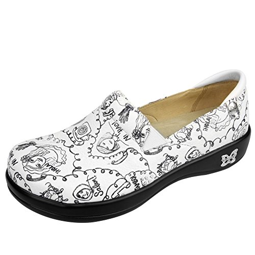 Alegria Women's Hey Girlfriend Keli Professional Print 41 M EU / 10.5 B(M) US
