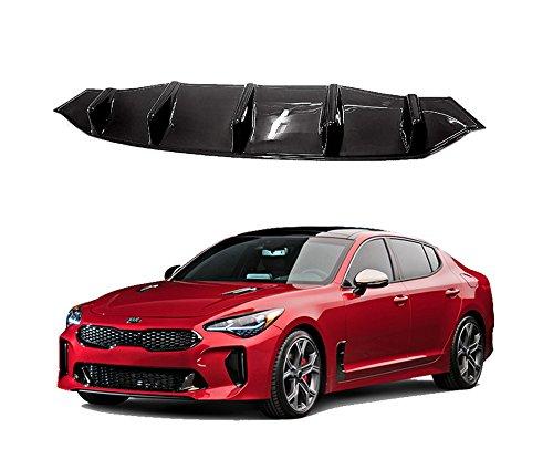 Price comparison product image M&S Matte Black Rear Bumper ABS Body Diffuser Guard for KIA Stinger 17-18