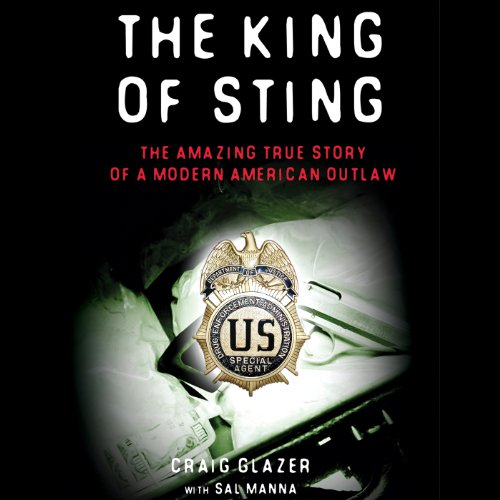 The King of Sting audiobook cover art