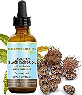 Sponsored Ad - BLACK CASTOR OIL JAMAICAN. 100% Pure / Natural / Virgin / Unrefined Cold Pressed Carrier oil. 1 Fl.oz.- 30 ...