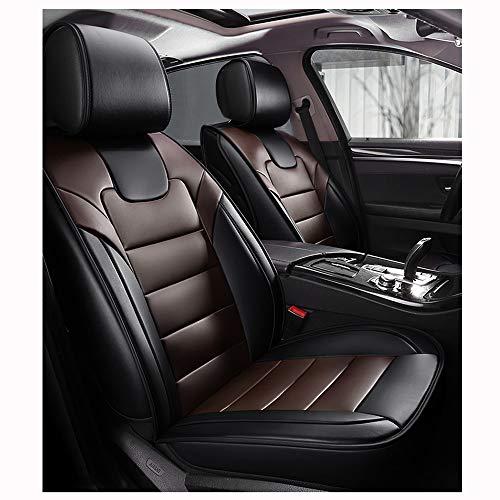 Preisvergleich Produktbild ZMCOV Kompatibel Mit Autositzbezüge Set Lederoptik,  Wasserdicht Vorne Hinten 5 Sitz Voll Set Universal Auto Sitzschoner, BMW M235 Gran Coupe, M340, M5, M550, M6 , B, S