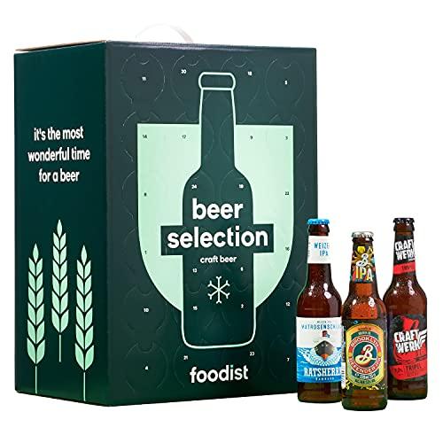 Foodist Premium Bier Adventskalender 2021 - Craft Beere als Geschenkidee