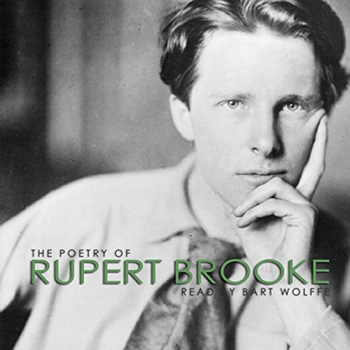『The Poetry of Rupert Brooke』のカバーアート