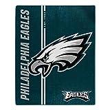 Northwest NFL Philadelphia Eagles 50x60 Raschel Restructure Design Blanket, Team Colors, One Size (1NFL070860011RET)