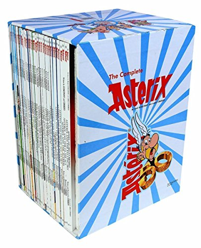 Asterix Comic Books Collection (Graphic Novels) - A Set of 35 Titles [Paperback] Rene Goscinny