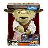 Star Wars 16-inch Lightsaber Battle Yoda Deluxe Plush