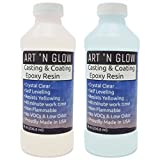 Use our clear epoxy resin for all of your casting AND coating applications. Cures crystal clear and hard as a rock Rigorous testing was done to ensure that our resin is a perfect match for all of our glow in the dark and other craft pigments Our resi...