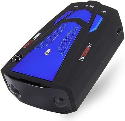 Car Trucker Speed V7 Radar Detector Voice Alert Warning 16 Band Auto 360 Degrees