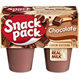 Snack Pack Chocolate Pudding Cups, 4 Count, 12 Pack