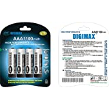 Digimax Rechargeable Household Batteries