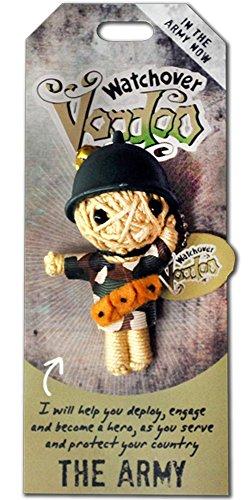 Watchover Voodoo-Puppe / Schlüsselring ~ Die Armee