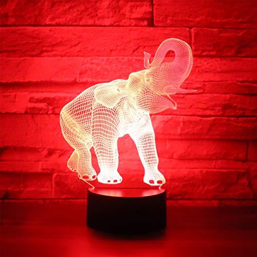 Hguangs Elephant Shape Lamp Desk Light Table Light