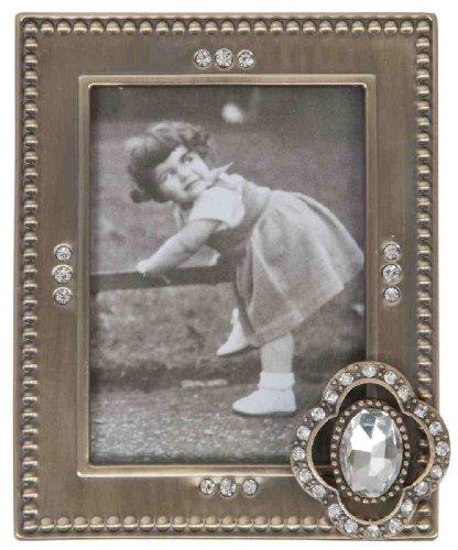 Clayre & Eef 2221 cornici portafoto argento circa 7 x 9 cm