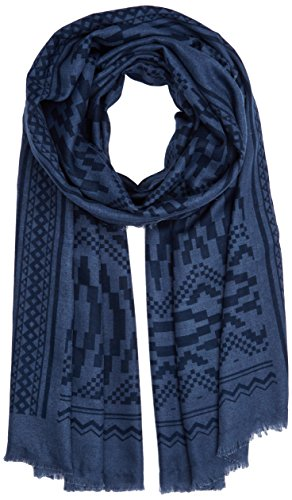 PIECES Damen PCSAMSON LONG SCARF PB Schal, Mehrfarbig (Flint Stone), One size