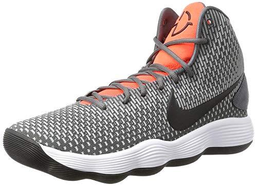 Nike Hyperdunk 2017, Scarpe da Basket Uomo, Grigio (Dark Grey/Black/Bright Crimson), 42 EU