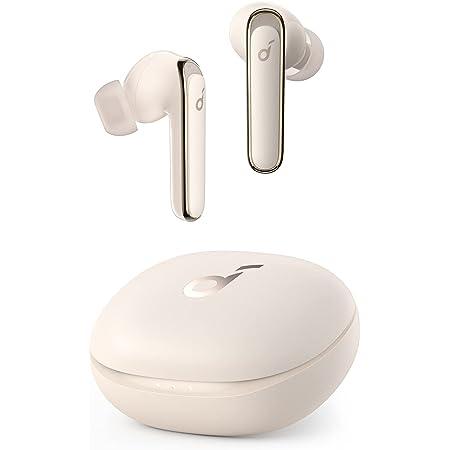 Anker Soundcore Life P3(ワイヤレス イヤホン Bluetooth 5.0)【完全ワイヤレスイヤホン / Bluetooth5.0対応 / ワイヤレス充電対応 / ウルトラノイズキャンセリング / 外音取り込み / IPX5防水規格 / 最大35時間音楽再生 / ゲーミングモード / 専用アプリ対応 / 通話ノイズリダクション / PSE技術基準適合】オフホワイト