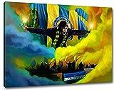 Ultras Braunschweig Format: 120x80, Bild auf Leinwand XL,