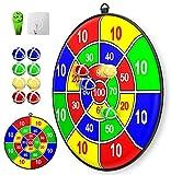 Thème de la fête de Noël enfants jeu de fléchettes-8 balle enfants jeu de société jouet jeu de fléchettes de sécurité-enfants cadeau jeu de sélection intérieur extérieur-13.2 Inches (33.5 cm)