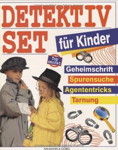 Detektiv-Set für Kinder: Anleitungsbuch und Ausrüstung für Top-Spione und Geheimagentinnen