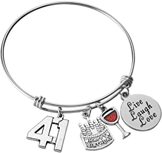 Miss Pink Happy Birthday Jewelry Gifts for Women