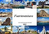 Fuerteventura Die Stadt Puerto del Rosario (Tischkalender 2022 DIN A5 quer): Wunderschoene Bilder der Hafenstadt Puerto del Rosario (Monatskalender, 14 Seiten )