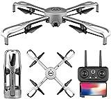 ADLIN Jouets éducatifs en plein air, Drone Drone FPV à distance avec 4K Ultra Caméra claire et caméra de reconnaissance Gesture Accueil Quadcopter avec Altitude de la caméra WiFi for maintenir un Take