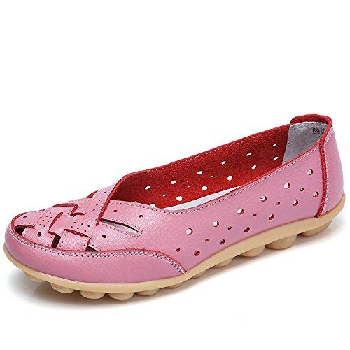 Mocasines Mujer Ligero Loafers Casual Zapatillas