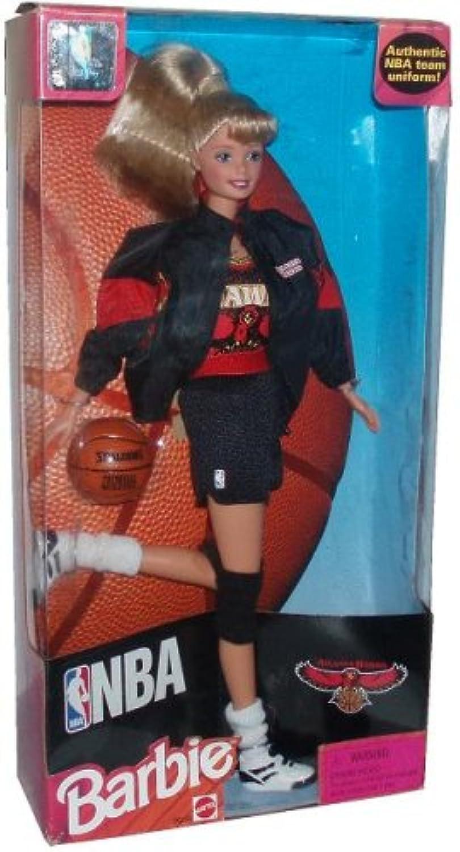 Barbie 1998 National Basketball Association NBA 12 Inch Tall Doll - Atlanta Hawks Barbie with Authentic NBA Team Uniform, Jacket, schuhe, Socks, Basketball and Hairbrush B001ATVXLA  Leicht zu reinigende Oberfläche  | Die Farbe ist sehr auffällig