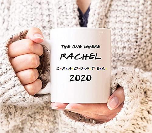 N\A The One Where 2020 Taza de graduación Taza Divertida de graduación 2020 2020 Regalo para graduados Regalos para graduados para graduación Regalo MBA Regalo PHD