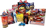 Easter Gift Baskets Idea for Boys and Girls Disney Pixar Cars Themed - Birthday Gift Baskets For Kids 3 to 8 Years Old