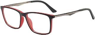 Inlefen Optical glasses Men's and women's Metal temple Fashion Retro Full Frame glasses