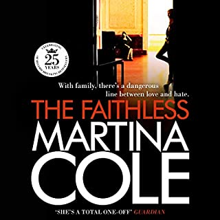 The Faithless audiobook cover art