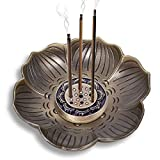cones with sticks - Brass Lotus Stick Incense Holder Cone Incense Burner Ash Catcher Home Fragrance Accessories