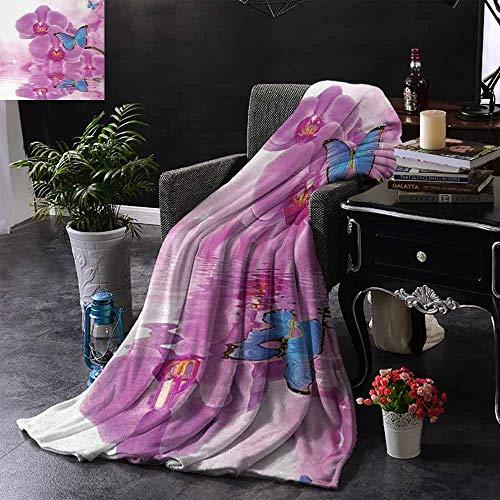 GGACEN Reisdeken Fee Vrouwelijk Oog met Vlinders Wimpers Mascara Stare Party Make-up Comfortabel Zacht materiaal, geef je Grote Slaap