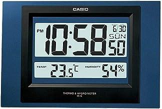ساعة حائط رقمية من كاسيو ID-16S-2DF - ازرق