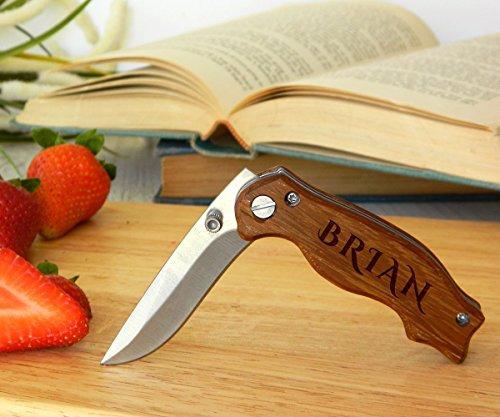 Couteau personnalisé, couteau gravé, couteau personnalisé, couteau de poche, cadeau pour les garçons d'honneur, couteau pliant, couteaux gravés, couteaux personnalisés