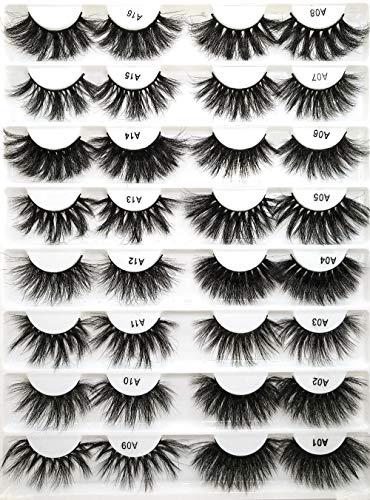 SGHR Faux Cils Entrecroisés Faux Cils Longueur Maquillage Cils Extension Cils Beauté, A11