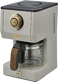 Toffy (トフィー) アロマドリップコーヒーメーカー K-CM5-GE