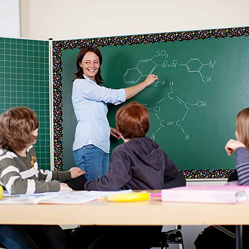 Bulletin Borders Stickers, 80 ft Back-to-School Decoration Borders for Bulletin Board/Black Board/Chalkboard/Whiteboard Trim, Teacher/Student Use for Classroom/School Decoration, 2 Set Photo #5