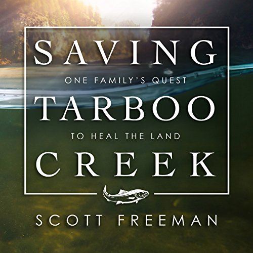 Saving Tarboo Creek audiobook cover art