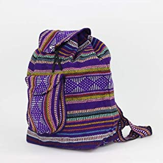 Mexican Baja Backpack - Mexican Bags - Bohemian Backpack - Cloth Backpack - Hippie Backpack -