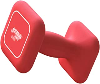 Small dumbbell Dip Dumbbells, Ladies' Solid Cast Iron Home Fitness Equipment, Beginners Thin Arm Yoga Dumbbells (single) F...